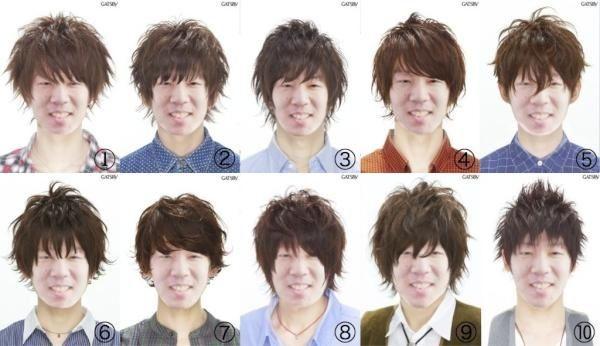 一昔前の大学生にありがちな髪型10パターンw w w