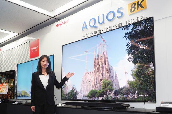 世界初チューナー内蔵8Kテレビ発売! お値段は・・・
