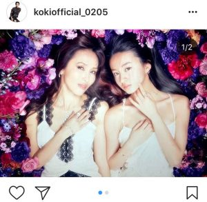 Koki, 母・工藤静香の誕生日に公開した2ショット大反響 「いいね!」1日で27万超え