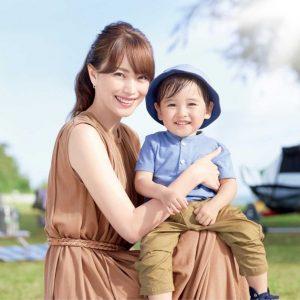 """エビちゃん 10年ぶり資生堂アネッサCM出演、優しい""""ママの顔""""見せる"""