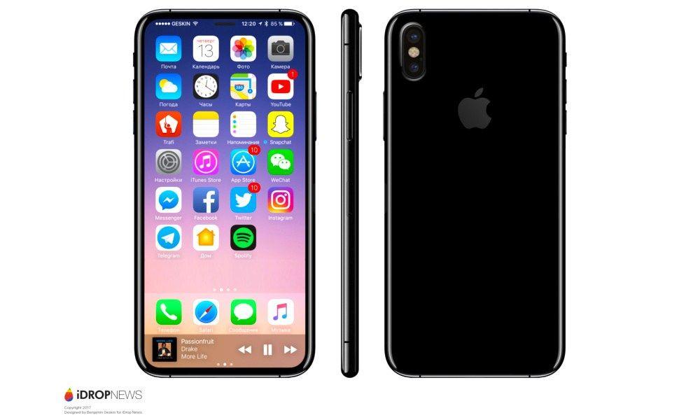 「iPhone 8」に最も近い予想デザインが公開される… iPhone5などの過去のファンも歓喜か?…