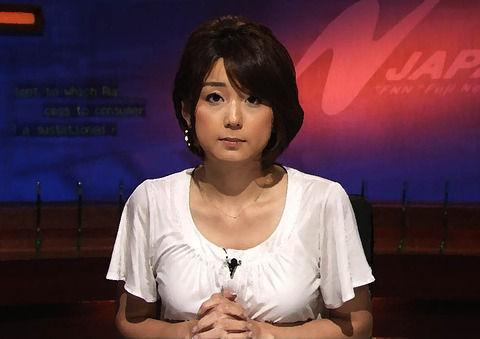 【妖艶女穴】色っぽすぎる女子アナ・秋元優里ってよwwwwwww