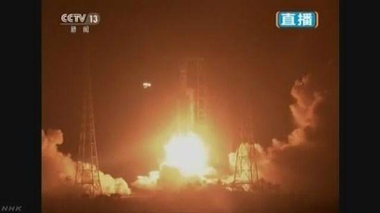 【中国】独自開発の宇宙輸送船を打ち上げ
