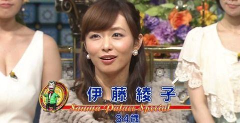 【嵐二宮彼女】伊藤綾子アナの「小悪魔」ぶりがコチラwwwww