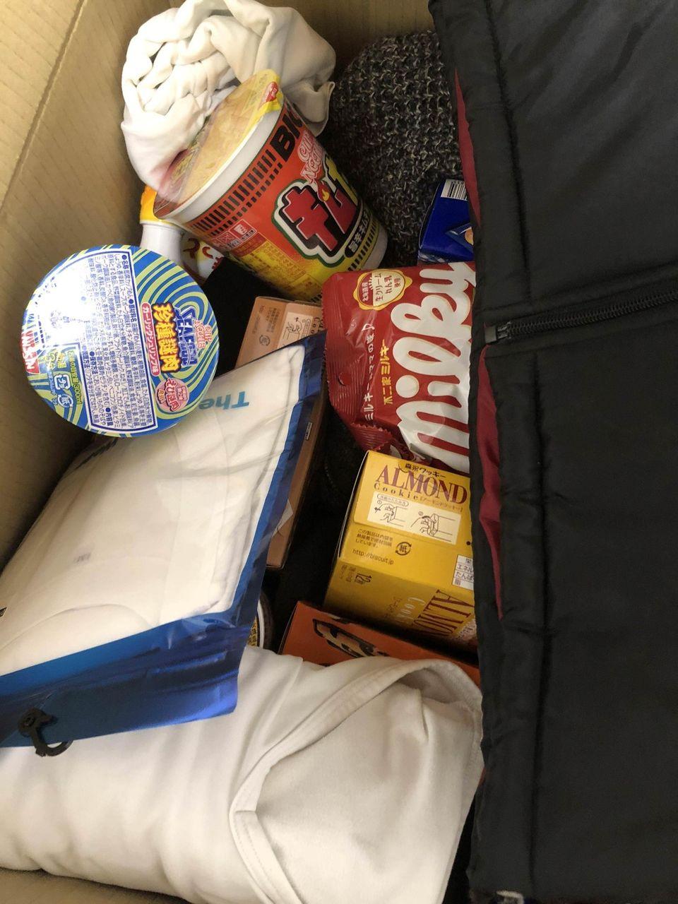 親から救援物資が届いた!!!(※画像あり)