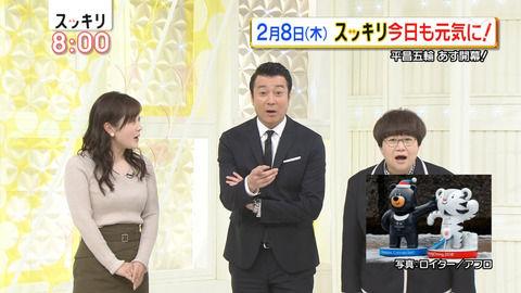 【神画像】日本テレビアナウンサー水卜麻美さん、朝からとんでもないお乳を披露