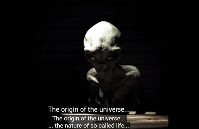 エリア51で撮影された「エイリアンのインタビュー映像」が公開…ネット上で真偽を巡って大論争!