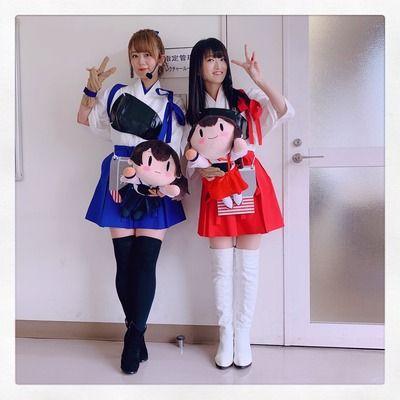 【朗報】声優の井口裕香さんと藤田咲さんいい年してとんでもないコスプレをさせられる