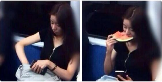 電車で許せるギリギリの食べもの