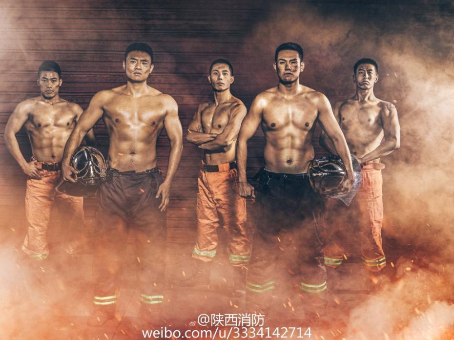 【朗報】中国の消防士カレンダーが日本のネットユーザーの間で好評!!!