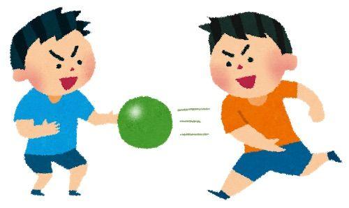 【悲報】女子中学生さん、ドッジボールをしたすぎて逮捕