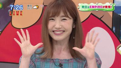 【悲報】内田彩さんの顔が限界を迎えてしまうwwwwwwww
