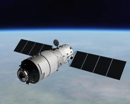 【続報】制御不能の中国宇宙ステーション「天宮1号」、欧州宇宙機関が3月30日から4月6日に地球落下するとの予測を発表