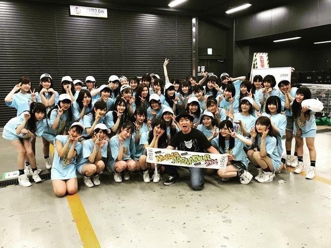 【NMB48】よゐこ濱口「凄く愛に溢れたステージでした」