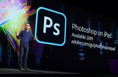 Adobeさん、iPadにフル機能のフォトショップを提供へ