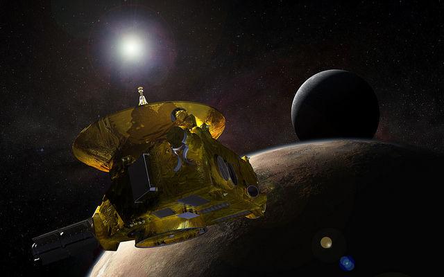 【宇宙】太陽を背に幻想的に輝く冥王星のもや…大気の存在確認