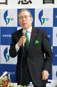 「全部使ってあの世に」日本電産会長、億単位の寄付次々