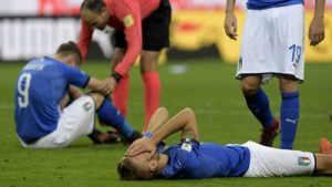 イタリア無念、スコアレスドローで60年ぶりの予選敗退に…スウェーデンが3大会ぶりの本大会へ