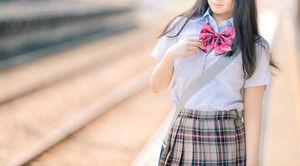 【検証画像】ボーボーすぎる女子高生がコチラwwww