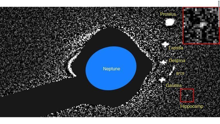 【宇宙】海王星に14番目の衛星発見、「ヒッポカンプ」と命名