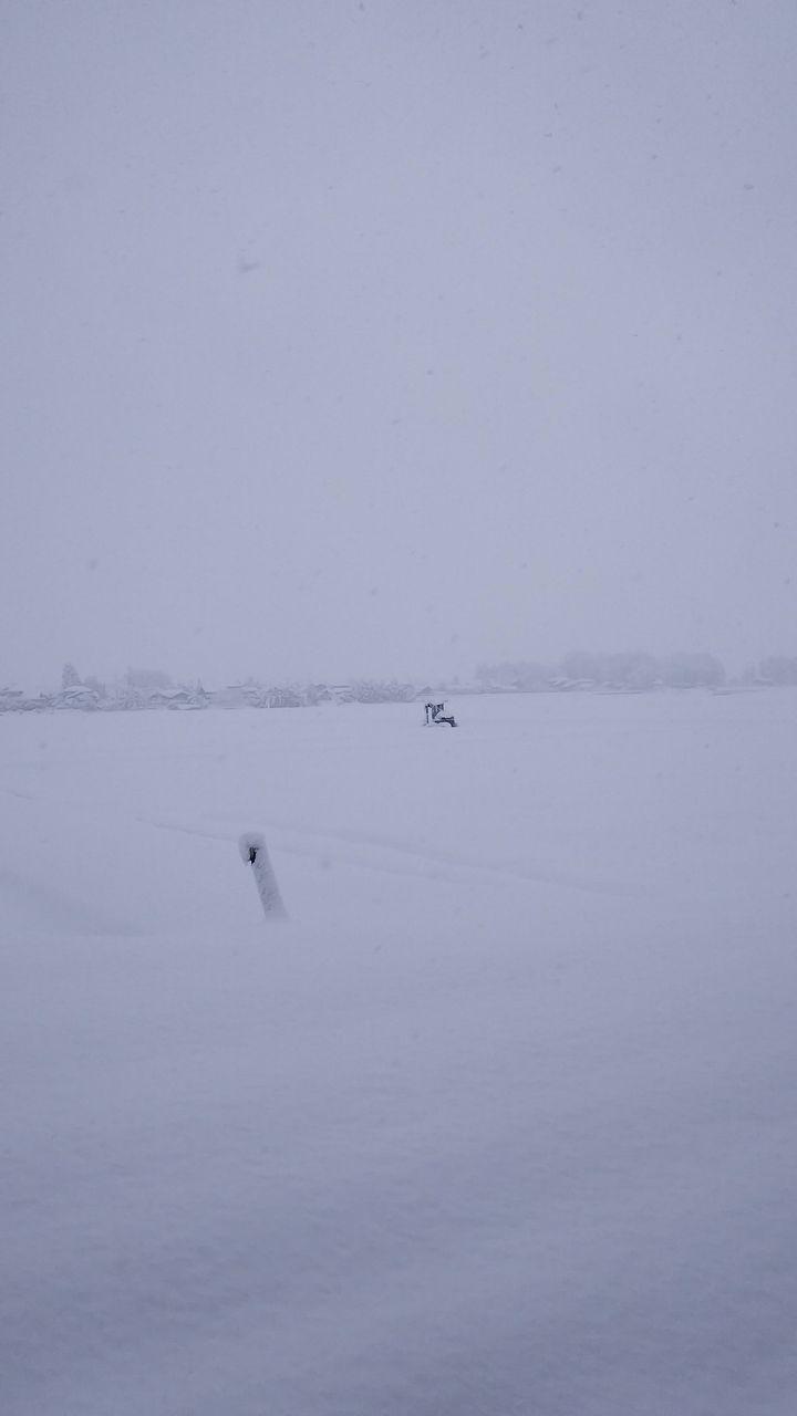 ワイの家のまわり、雪がすごすぎて笑えない(画像あり)