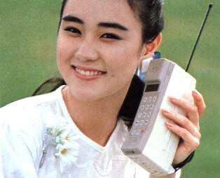 【画像】30年前の携帯電話www