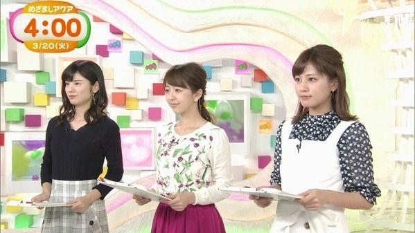 【画像】今日の曽田麻衣子さんと堤礼実さん 3.20