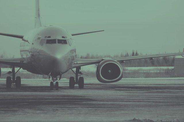 彡(^)(^)「飛行機の窓から外見たろ!」 →