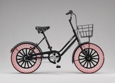 【エコ】パンクしない自転車タイヤ、ブリヂストンが開発=2019年に実用化目指す