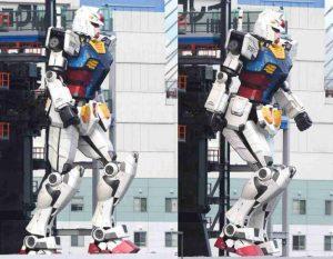 「こいつ動くぞ」、高さ18mの巨大ガンダム 横浜の新施設