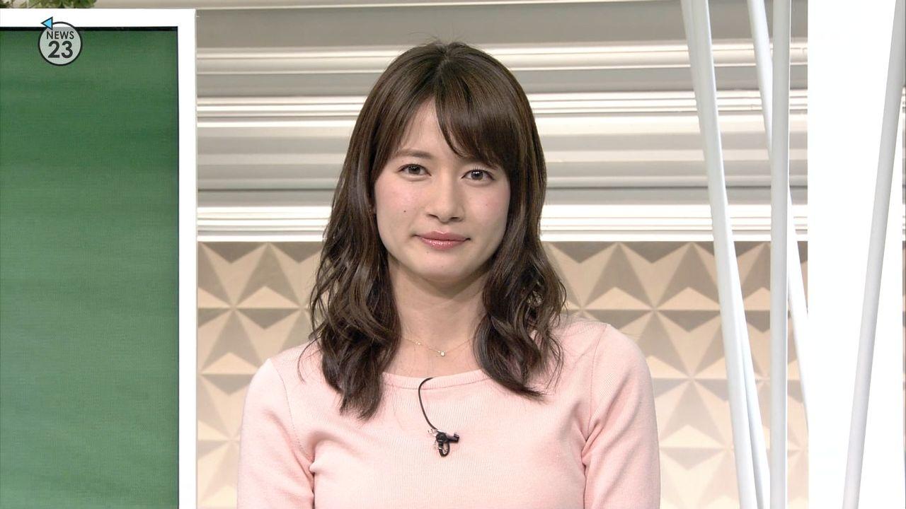 TBSの宇内アナって可愛すぎない?????