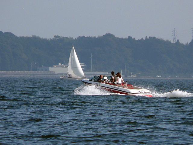 浜名湖湖畔をドライブ