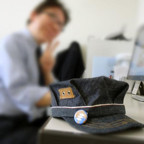 20130131カッタさん帽子1