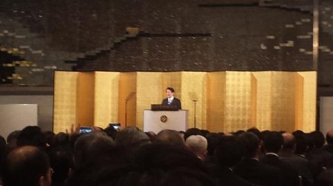安倍首相講演会1