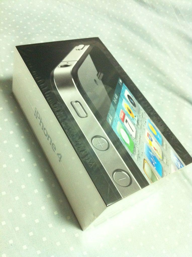 iPhone4ユーザーになりました(^^)