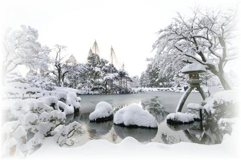 兼六園(雪)