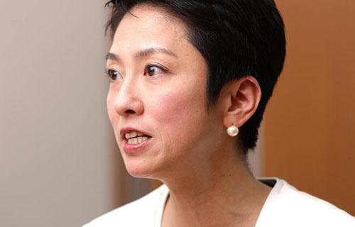 立憲・蓮舫代表「JOC竹田会長は辞めて済む話ではない!」
