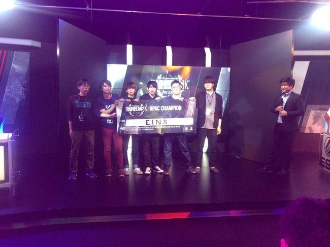 【祝】『レインボーシックス シージ』プロリーグで日本チーム「eiNs」が見事優勝!世界大会の出場権を獲得!