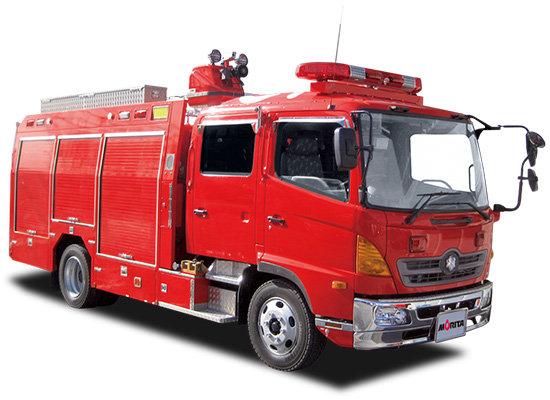 消防車の車内にある「あの音がなるボタン」が話題に!誰でも1目見ればわかる神デザインwwwwwww
