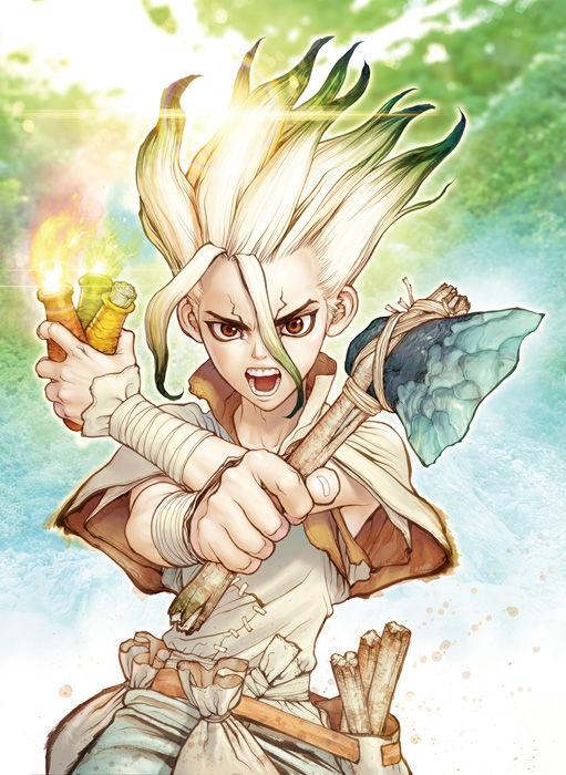 ジャンプ連載中『Dr.STONE』TVアニメ2019年7月より放送決定!主人公・千空は小林裕介