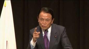 麻生副総理「北朝鮮機がシンガポールまで飛ぶ事を期待するが、途中で落ちたら話にならん」