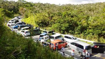 沖縄・中城村「サヨクの道路封鎖は非暴力に徹した正当な活動」 機動隊の即時撤退を要求