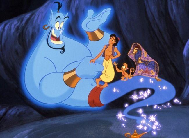 実写版『アラジン』 ジーニーが「青いウイル・スミス」、「ウイル・スミスの色違い」だと話題にwww