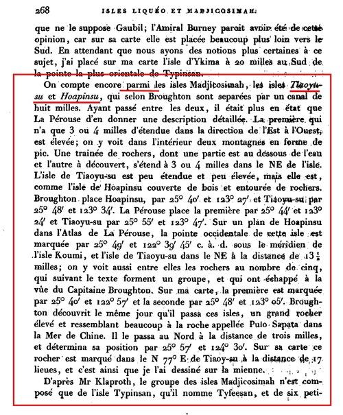 1827Recueil_hydrographiques_Kruzenshtern第268頁尖閣