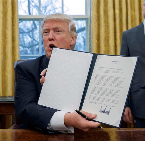 トランプ大統領令
