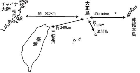 26大正島距離