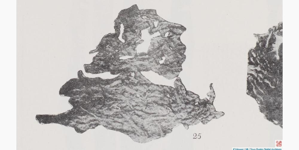 西漢紙黄羅布淖爾考古記圖版23圖25