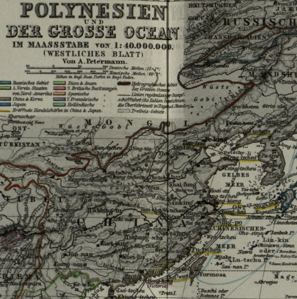 1868StielerHandAtlas_Polinesien_Greifsward藏