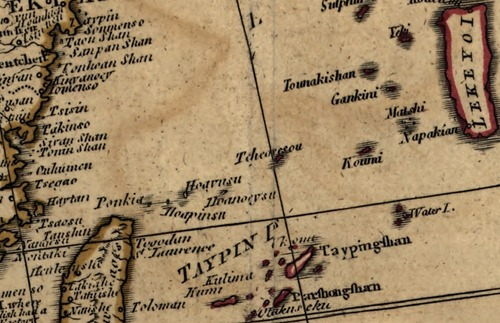 Laurie1799尖閣_Asia_islands_according_to_D-Anville米議會圖書館