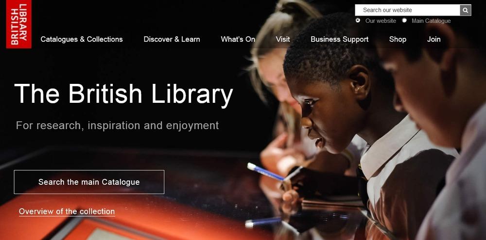 British_Library_website